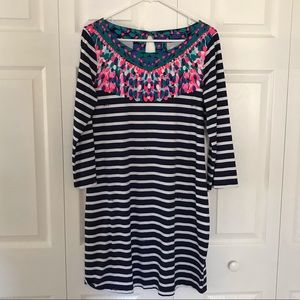 New Lilly Pulitzer Striped Dress Sz L
